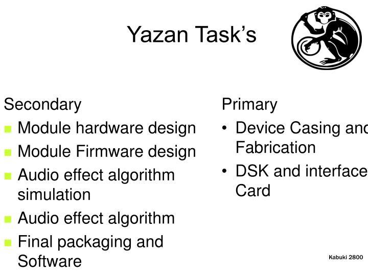 Yazan Task's