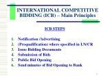 international competitive bidding icb main principles3