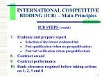 international competitive bidding icb main principles4