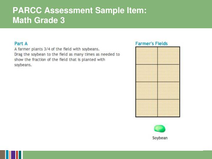 PARCC Assessment Sample Item: