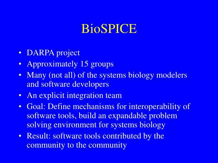 BioSPICE
