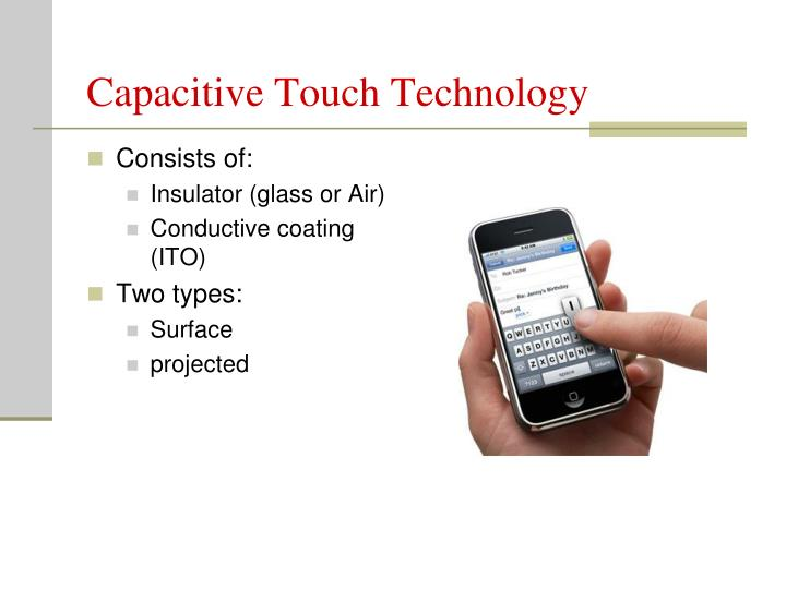 Capacitive Touch Technology