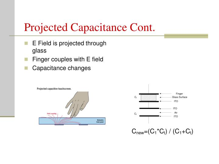 Projected Capacitance Cont.