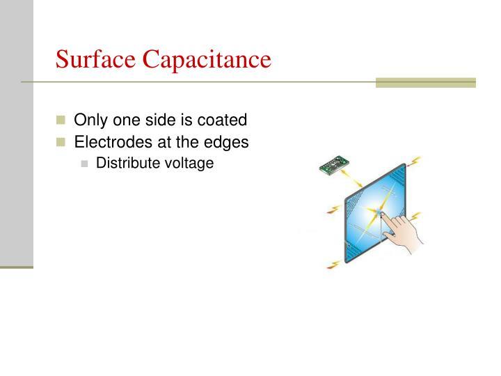 Surface Capacitance