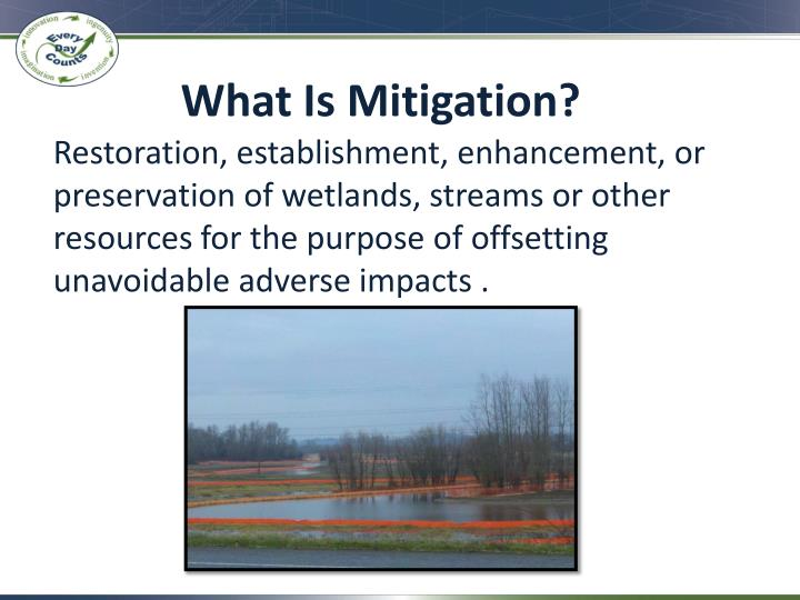 What is mitigation