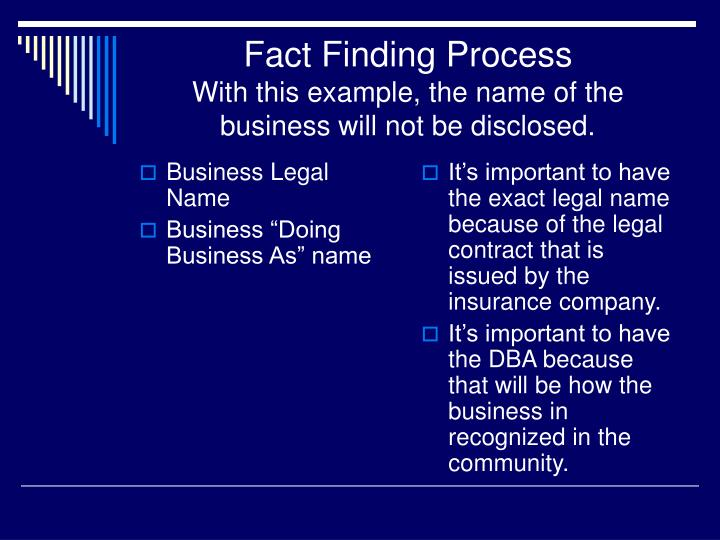 Business Legal Name