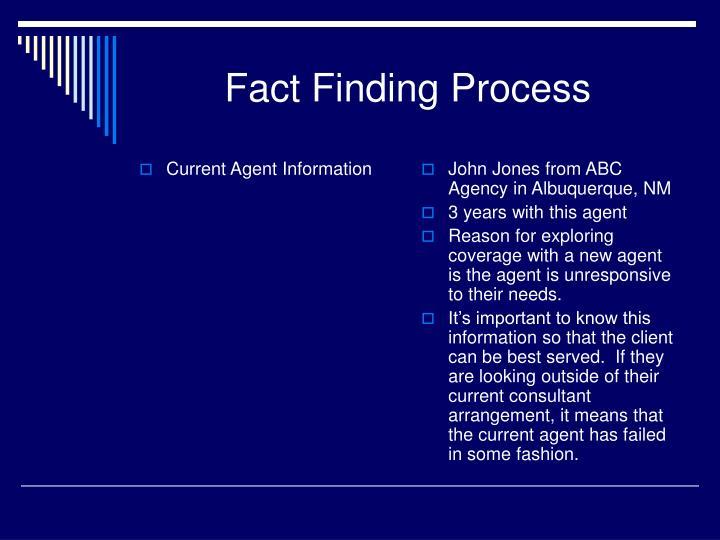 Current Agent Information