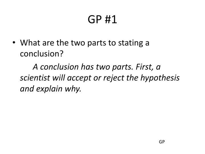 GP #1