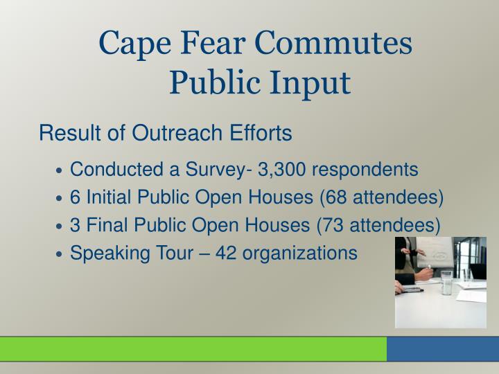 Cape Fear Commutes