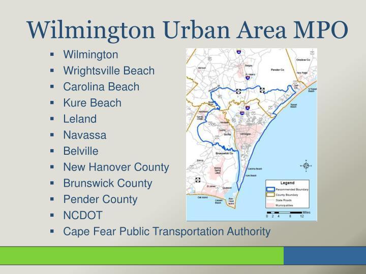 Wilmington urban area mpo