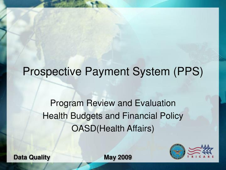 Prospective payment system pps