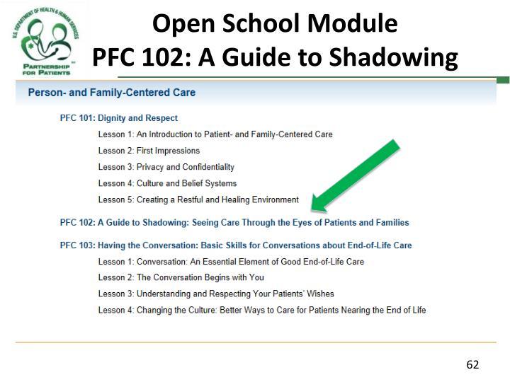 Open School Module