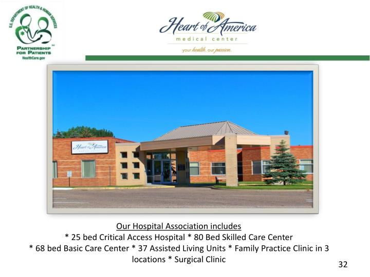 Our Hospital Association includes