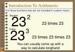 introduction to arithmetic1