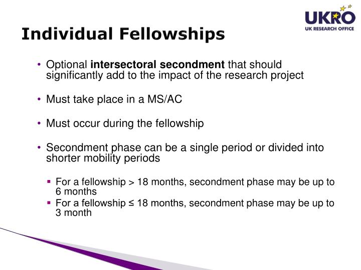 Individual Fellowships