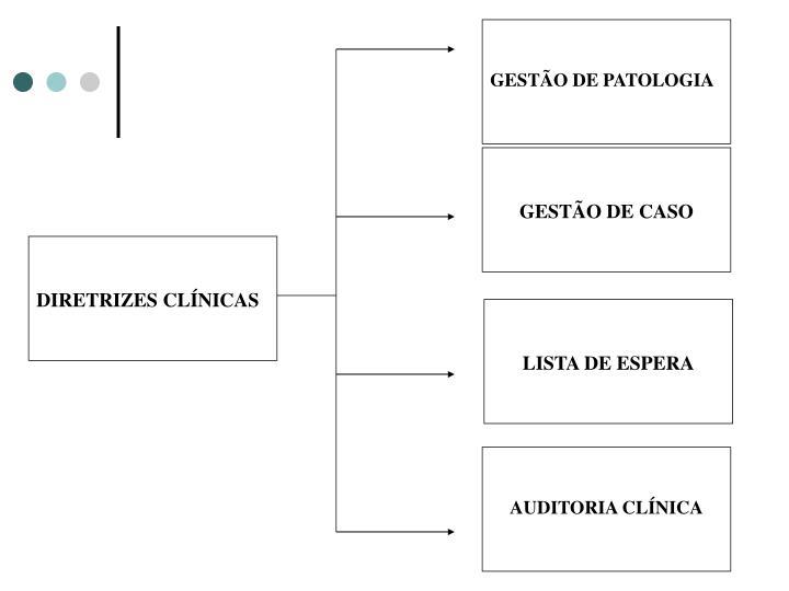 GESTÃO DE PATOLOGIA