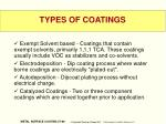 types of coatings1