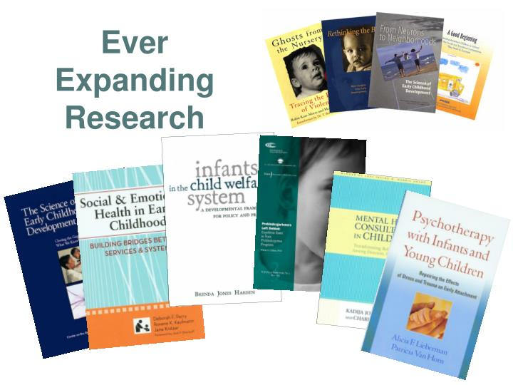 Ever Expanding Research