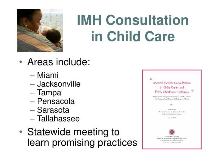 IMH Consultation in Child Care