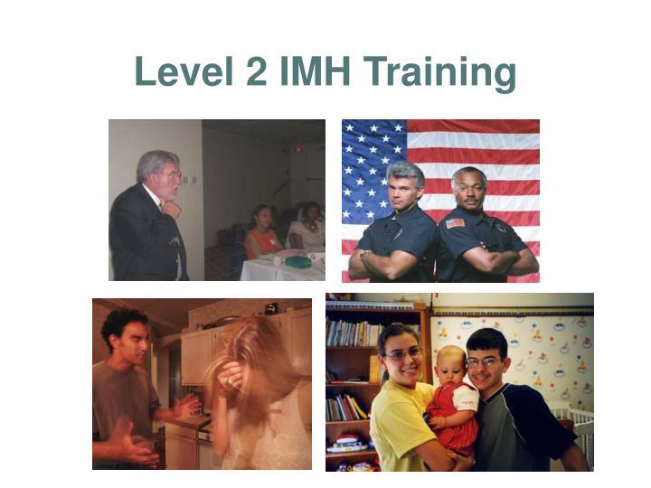 Level 2 IMH Training