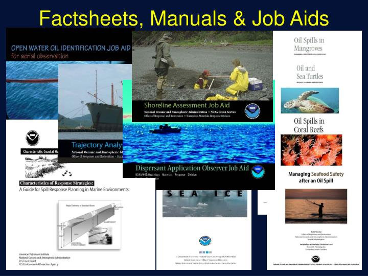 Factsheets, Manuals & Job Aids