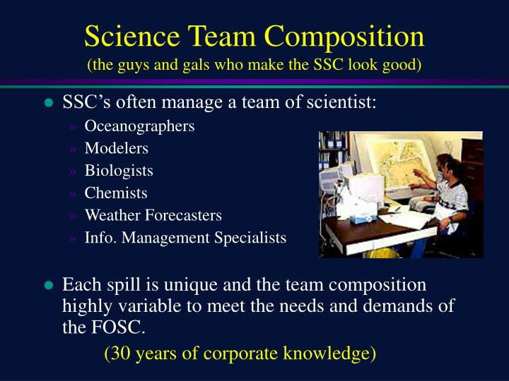 Science Team Composition