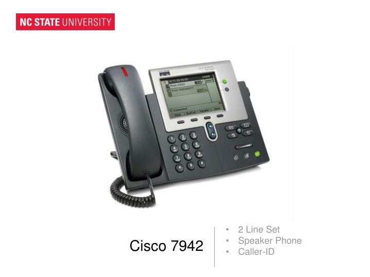 Cisco 7942