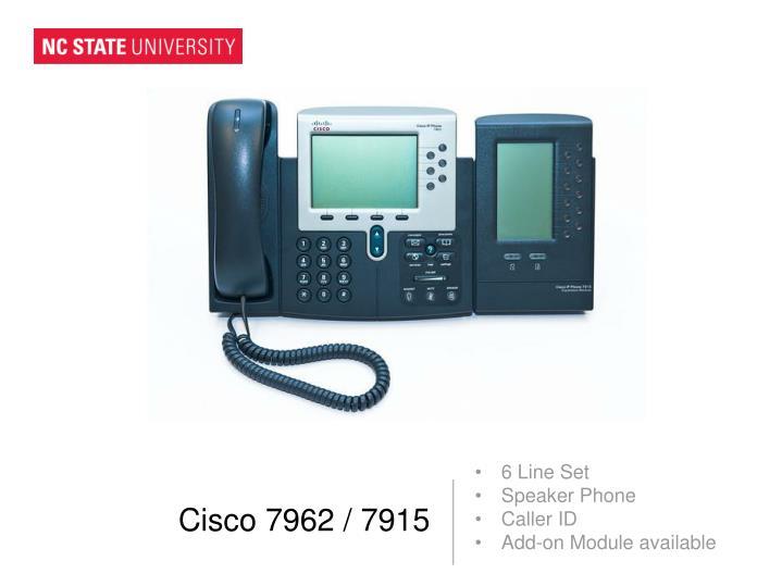 Cisco 7962 / 7915