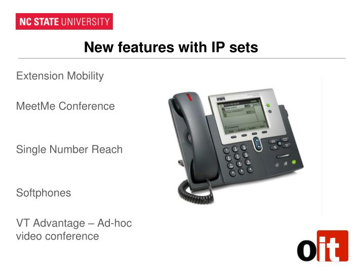 New features with IP sets