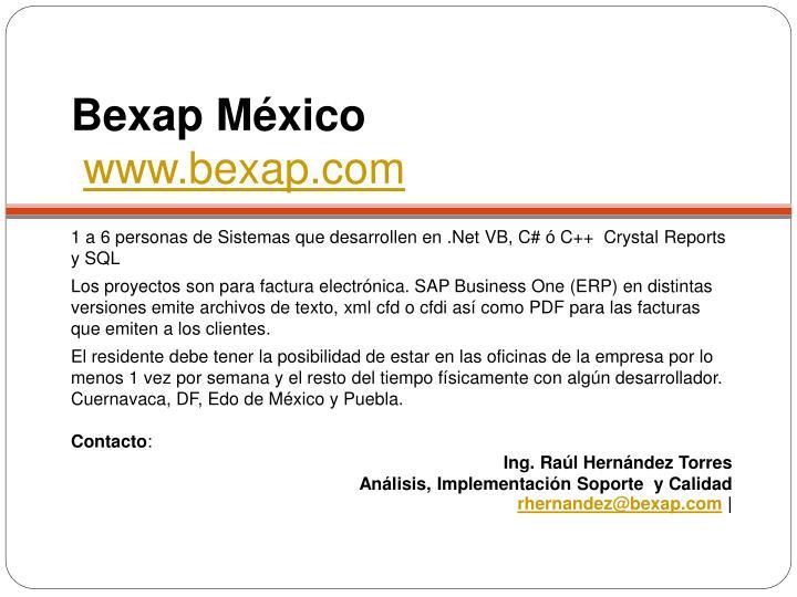 Bexap México