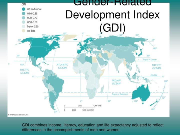 Gender-Related Development Index (GDI)