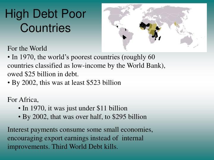 High Debt Poor Countries