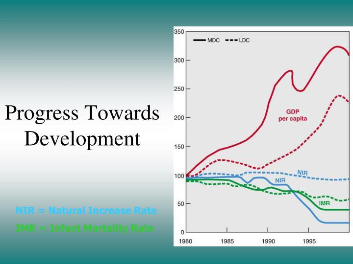 Progress Towards Development