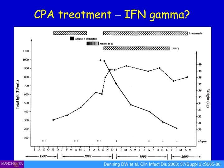CPA treatment