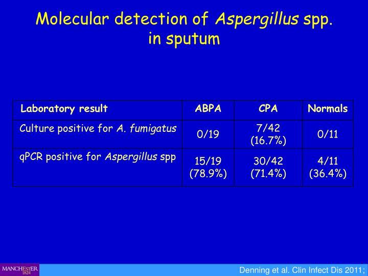 Molecular detection of