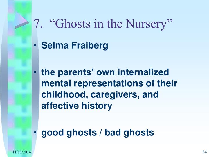 fraiberg ghosts in the nursery