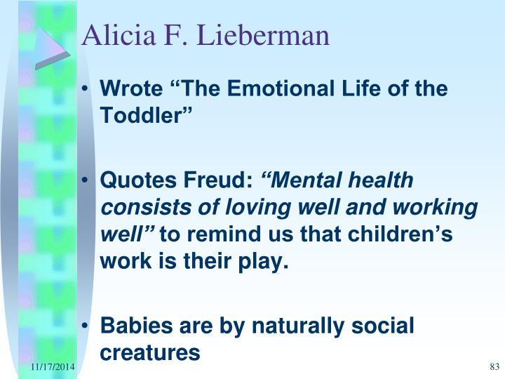 Alicia F. Lieberman