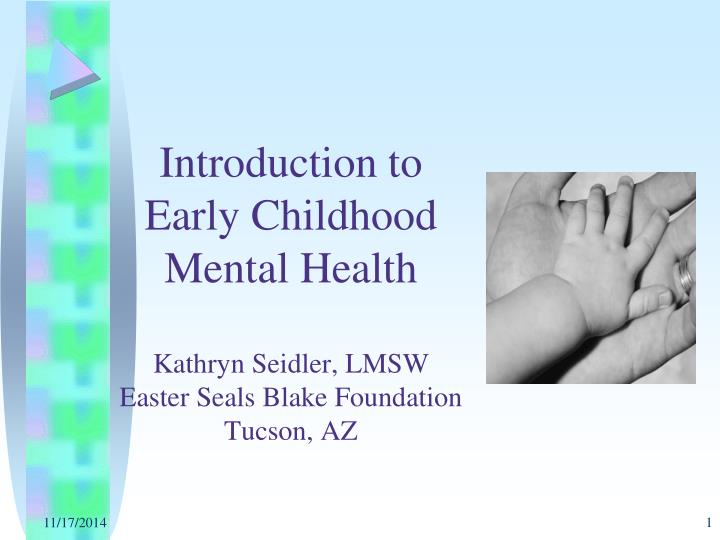 Introduction to Early Childhood Mental Health