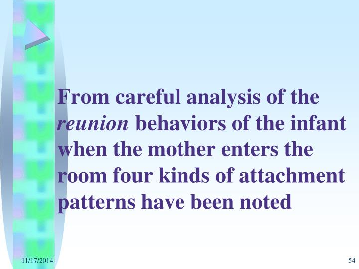 From careful analysis of the