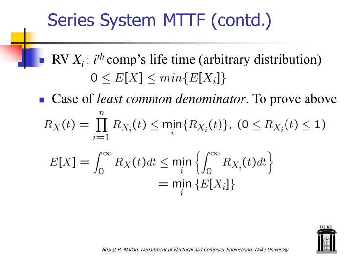 Series System