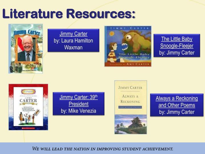 Literature Resources: