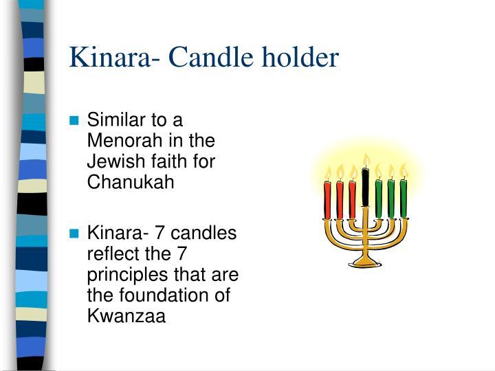 Kinara- Candle holder