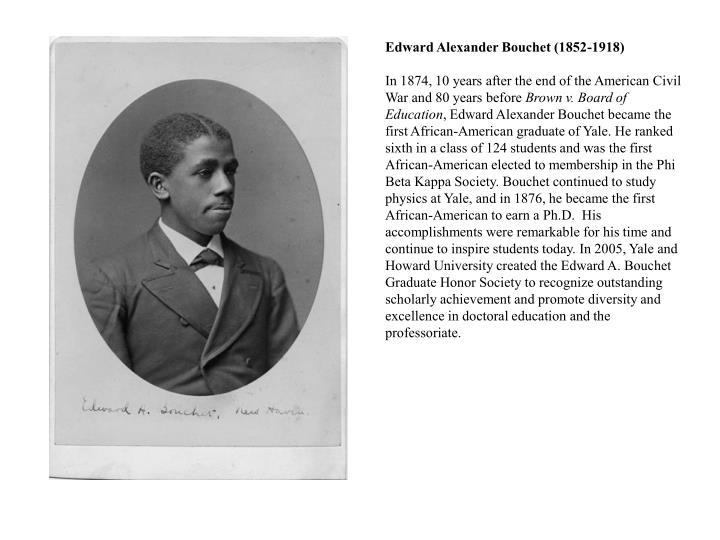 Edward Alexander Bouchet (1852-1918)