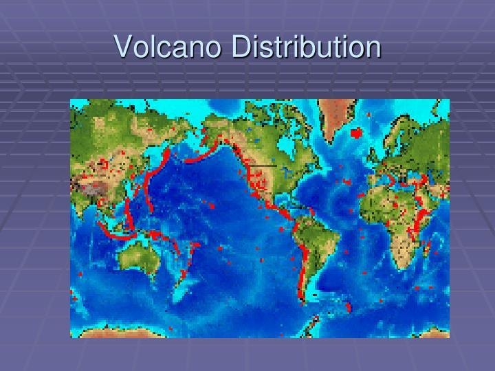 Volcano Distribution