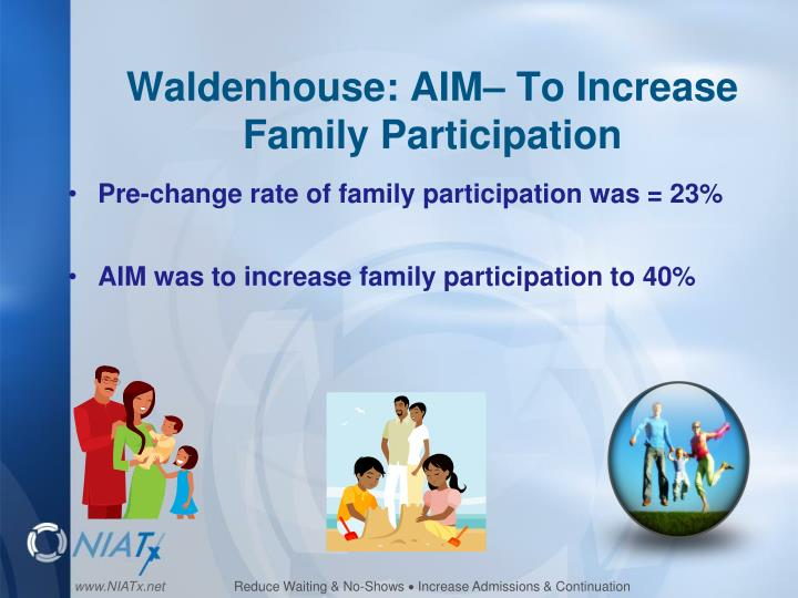 Waldenhouse aim to increase family participation