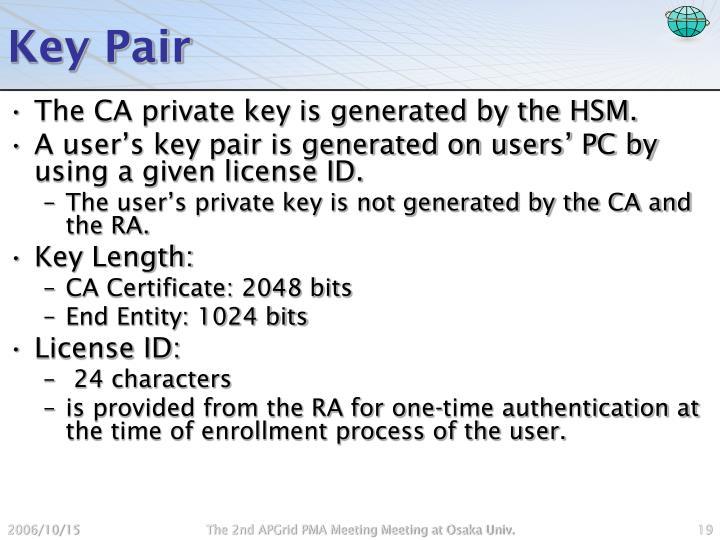 Key Pair