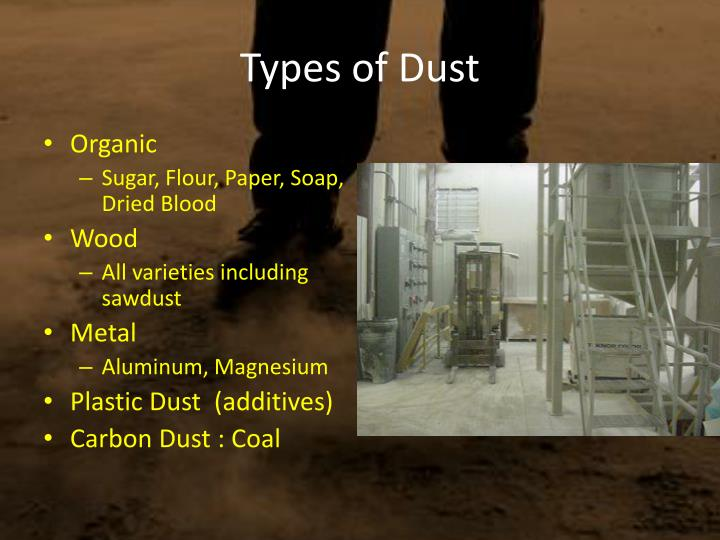 Types of Dust