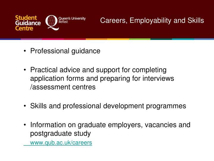 Careers, Employability and Skills