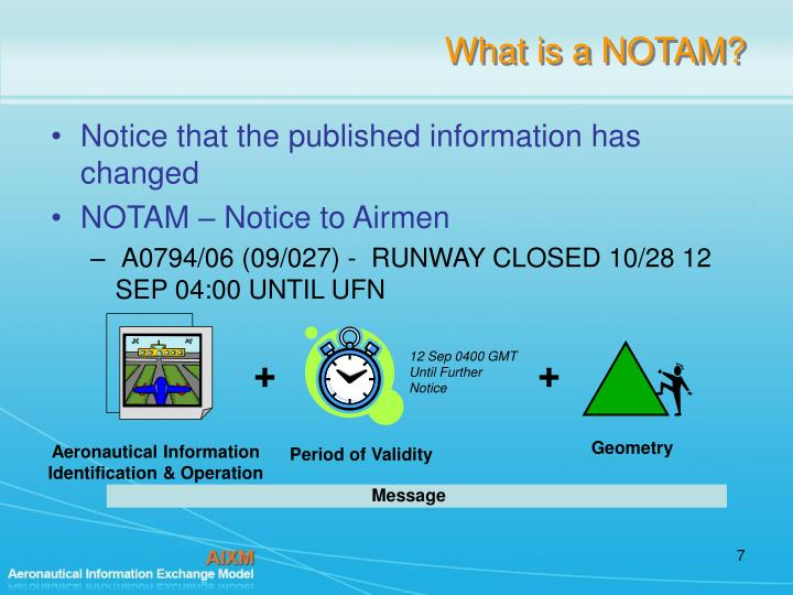 What is a NOTAM?