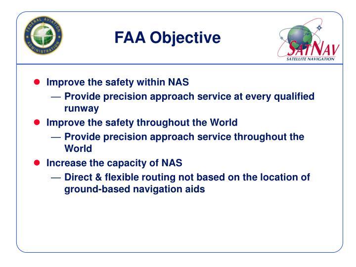FAA Objective